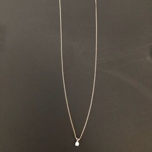 Jewelry - .15 carat diamond pendant with 14k gold chain